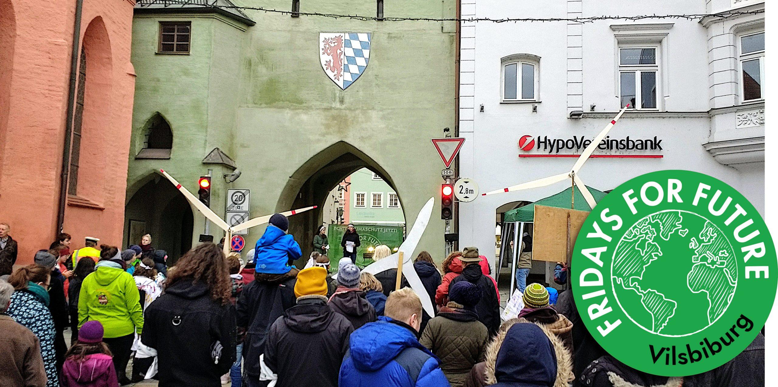 #NeustartKlima Klimastreik Vilsbiburg 29.11